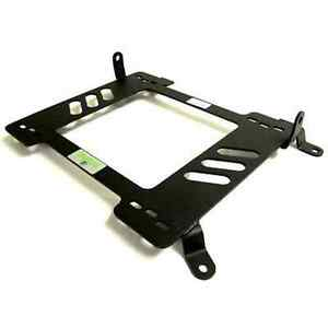 Planted Seat Bracket Driver Left Side Audi A4 S4 B7 06 08 Steel Black