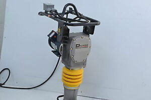 Packer Brothers Rammer Tamper Jumping Jack Electric 110 Volt Compactor Pb78