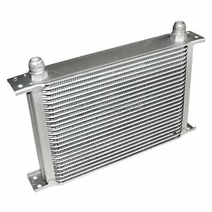 Universal Silver 25 Row 10an 10 An Engine transmission Aluminum Oil Cooler