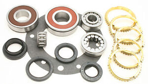 Jeep Dodge Ax15 Ax 15 5 Speed Spd Transmission Manual Bearing Rebuild Kit 85 On