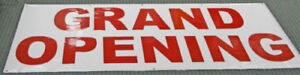 New grand Opening Banner Sign Indoor outdoor 4 X 8