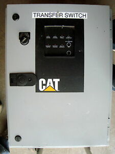 Cat Ctg Automatic Transfer Switch 380 400 Volts 3 Ph 60 Hz 200a