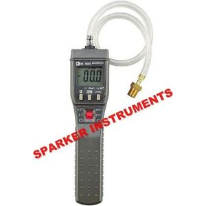 New Bokles Bk8680 Digital Manometer Gas Flow Pressure Measurement Meter Tester