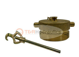 Fire Hydrant Adapter Combo Nst 2 1 2 Plug W hydrant Wrench
