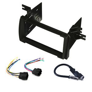 Radio Replacement Dash Mount Kit 2 Din W Harness Antenna For Pontiac Vibe