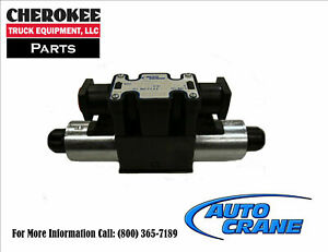 Auto Crane 300204010 Solenoid Valve Section
