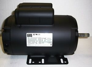 Campbell Hausfeld Air Compressor Electric Motor 5hp 230v Mc019300av Mc024799sj