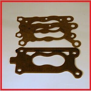 Carburetor Insulator Spacer Gasket Set 1986 1993 Mazda B2200 2 2l Nikki 2bbl