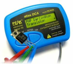 Peak Atlas Dca Semiconductor Component Analyser Tester Transistor Mosfet Diode