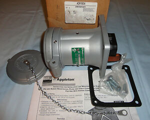 Appleton Pin sleeve Adr15034 Receptacle 150a 3w4p Powertite New