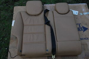 04 Porsche Cayenne Turbo Rear Seat Heated Backing Right Side Tan Oem