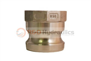 4 Type 400a 316 Stainless Steel Male Camlock X Female Pipe Npt