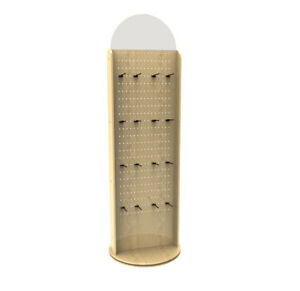 Pegwall Spinner Floor Rack Display Giftware Jerky Souvenirs Rack Stand 10308 2