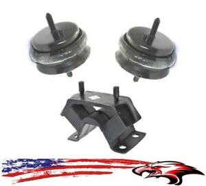 New Engine Motor Mounts Transmission Mount 3pc Kit For Pontiac Gto 2004 2006