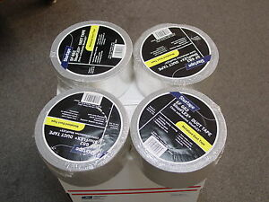 4 pack Shurtape Sf 682 3m 3 X 60 Yard Metalized Duct Tape