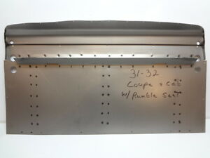 Chevrolet Chevy Coupe Cabriolet Rumble Seat Floor Pan 31 32 1931 1932
