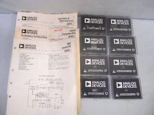 11 Various New Analog Devices Cmos Dds A d Converter Ad9830a Admc200 Ad9850