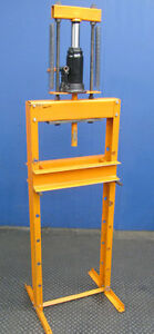 Heavy Duty 12 ton Hydraulic H frame Shop Press Craftsman Cylinder
