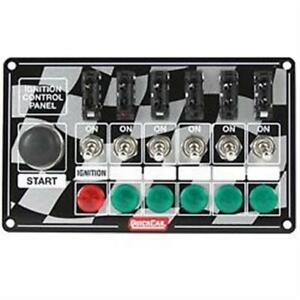 Quickcar Ignition Control Panel Starter Button Ignition Switch Fused Switches