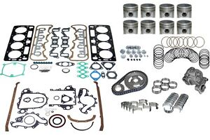 Fits Chevrolet Fits Chevy Fits Gm 6 5 Diesel Engine Overhaul Kit 92 93