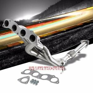 Stainless Steel Exhaust Header Manifold For 06 11 Honda Civic Si 2 0l K20 Dohc