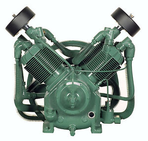 Champion R30d 3z183 3z182 2 Stage Splash Lube Compressor Pump With Head Unloader