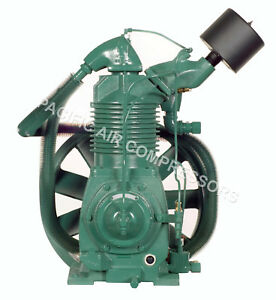 Champion R40a 15 Hp 2 Stage Splash Lubricated Compressor Pump W head Unloader
