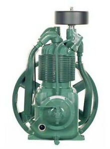 Champion R10d 1 5 2 Hp 2 Stage Splash Lubricated Compressor Pump W head Unloader