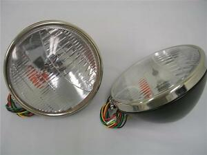 1933 1934 Ford Car Commercial Pickup Truck Headlights W Turn Signal Head Lamp