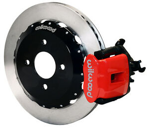 Wilwood Disc Brake Kit Rear Honda Civic 10211 12 Rotors Red Calipers