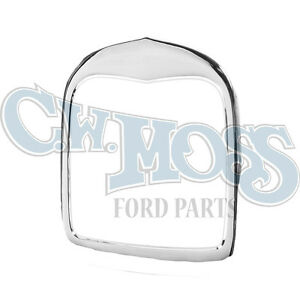 Ford Model A 1928 29 Chrome Smoothie Radiator Shell No Holes