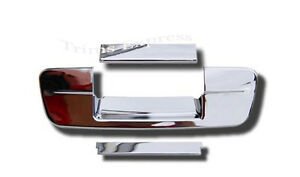 Fits 2009 2018 Dodge Ram Chrome Tailgate Handle Cover 2016 2015 2014 2013 2012