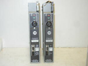 Lot Of 2 Allen Bradley 1785 lt4 Ser A Used Processor Modules 1785lt4