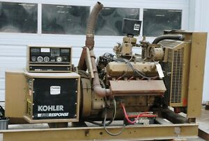 Kohler Generator 100rz72 1800 Rpm 100kw Natural Gas