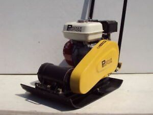 New Packer Brothers Pb168 Plate Compactor Tamper Honda