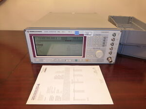 Rohde Schwarz Smp02 10 Mhz To 20 Ghz Microwave Signal Generator Calibrated
