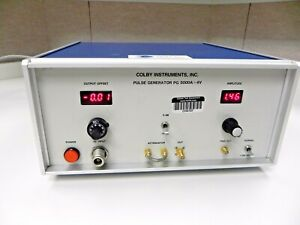 Colby Pg5000a Pulse Generator 5 Ghz