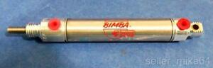 Bimba Mrs 021 4 dxp Pneumatic Cylinder 1 5 Stroke 9 16 Bore Lot Of 4