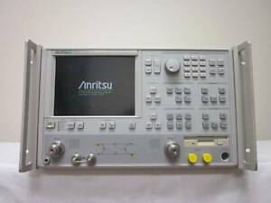 Anritsu 37369a 40 Ghz Vector Network Analyzer Opts 3 6 10 11 Calibrated