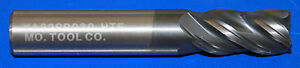 1 2 Carbide Variable Helix Variable Flute End Mill 1 Loc 3 Oal 4 Fl Altin