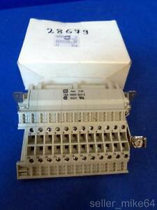 Harting 0933 0244625 Lh Terminal Block Connector 24 Contacts Female Nib pzf
