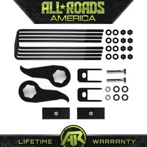 3 Inch Leveling Suspension Lift Kit 2011 2018 Chevy Gm 2500 3500 4wd 4x4