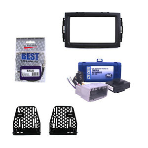 Radio Replacement Interface Double Din Dash Stereo Kit For Dodge Jeep Chrysler