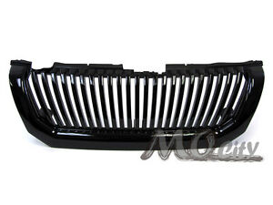 Front Badgeless Grille Grill For Mitsubishi 00 04 Montero Sport Black 01 02 03