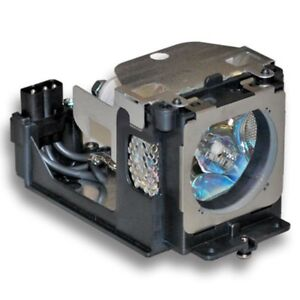 Sanyo 610 333 9740 6103339740 Lamp In Housing For Projector Model Plcxu105