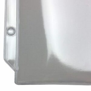 New 7 X 9 3 hole Punched Heavy Duty Sheet Protectors Free Shipping