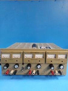 Lambda Lpt 7202fm Triple Output Dc Power Supply