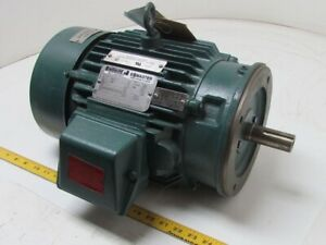 Reliance Electric 1 1 2hp 3ph 860rpm 184tc Tefc Duty Master Electric Motor