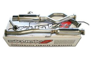 Skunk2 Megapower Rr 76mm Exhaust Catback 02 06 Acura Rsx Type s