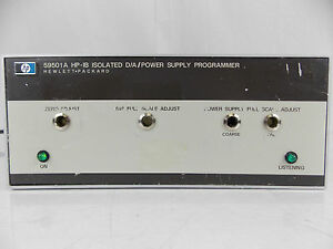 Hp Agilent 59501a Hp ib D a Power Supply Programmer